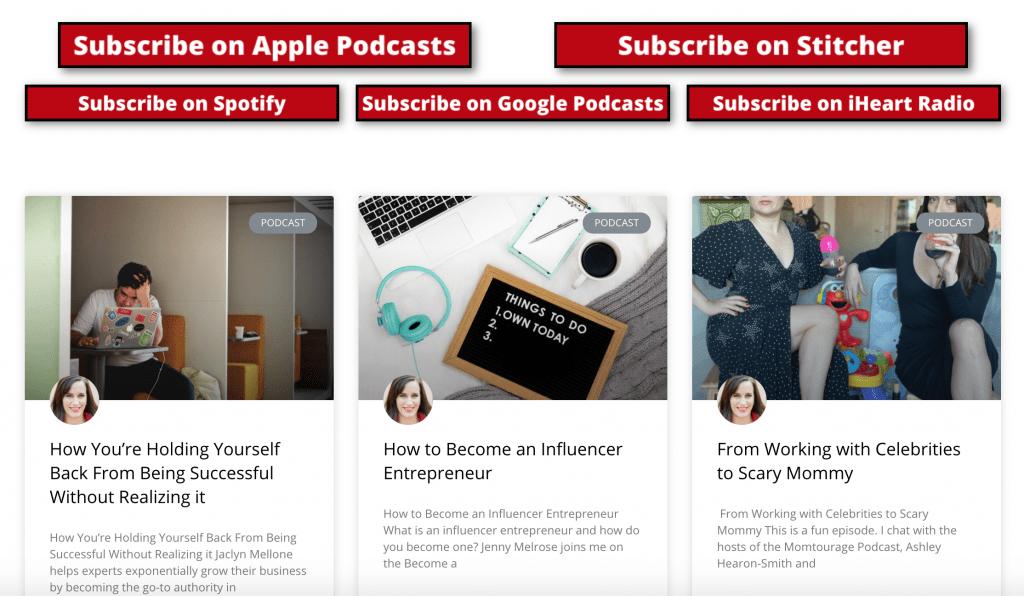 grow a podcast